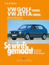 VW GOLF 2 DIESEL 1983-1991 JETTA DIESEL REPARATURANLEITUNG SO WIRDS GEMACHT 45