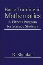 Basic Training in Mathematics : A Fitness Program for Science Students-ExLibrary
