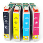 10x Ink Cartridges T200 XL for Epson WF-2520 WF-2530 WF-2540 XP310 XP410 Printer