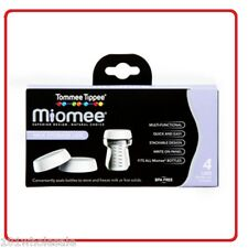 4 x Tommee Tippee Milk Storage Lids Close To Nature BPA Free Breast Feeding Baby