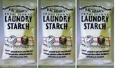 600g  KERSHAWS TRADITIONAL LAUNDRY STARCH  Powder 3 x 200G *3packs*
