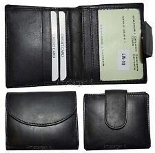 Lot of 2. Woman's leather wallet. Billfold Ladies wallet. card case w/Coin purse
