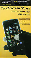 iTech Unisex Touchscreen Gloves iPhone Samsung HTC Winter Touch Screen One Size