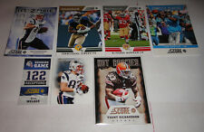 2012 SCORE FOOTBALL GREAT LISTING OF INSERT CARDS TO PICK FROM