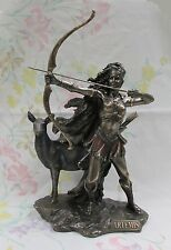 Roman Goddess Diana Greek Artemis the Huntress Archery Statue #WU75674A4