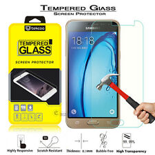 Premium Real Tempered Glass Film Screen Protector for Samsung Galaxy J3 (2016)