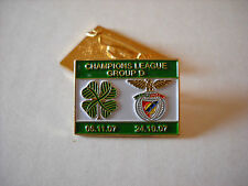 a1 BENFICA - CELTIC cup uefa champions league 2008 spilla football calcio pins