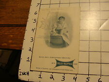 """Vintage Early Paper: FELS-NAPTHA SOAP Advertising Booklet & """"new"""" Roller Washer"""