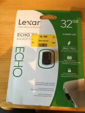 Lexar Echo ZX 32GB USB Backup Flash Drive LEHZX32GBSBEU - 7388562