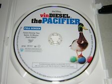 Disney The Pacifier Vin Diesel Full Screen New Unused DVD DISC ONLY combine ship