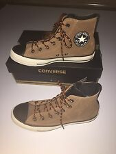 Converse Hi Top Leather Trainers Boots  Size 6 Mens Boys BNWB