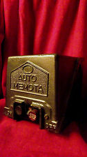 "Vintage Industrial Factory Switch Starter Stop/Start ""AUTO-MEMOTA"""
