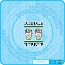 Ribble - Bicycle Decals Transfers - Stickers - Set 1
