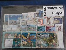 Europa 1991  collectie meelopers 34 zegels postfris/mnh