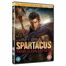 Spartacus - War Of The Damned (DVD, 2013)