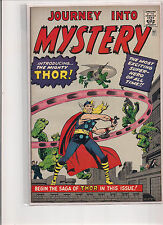 Journey Into Mystery #83 1966 Golden Records Comic Book. Thor! VF+