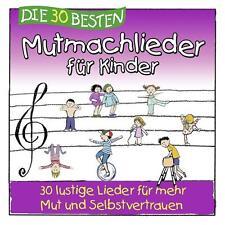 CD DIE 30 BESTEN MUTMACHLIEDER FÜR KINDER Neu & eingeschweißt!!