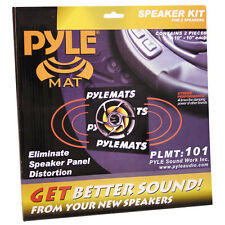 Pyle PLMT101 Speaker Panel Mat Kit (Pair)