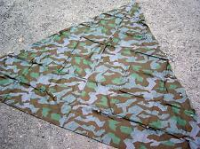 REPRO WW2 GERMAN ARMY SHELTER COVER / ZELTBAHN in M34 SPLINTERTARN CAMO