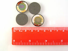 Encased Mylar Cone Speaker External Use 150 Ohm 20mm Diam DMH120 4 Pieces OM1034