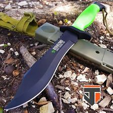 "12"" BIOHAZARD ZOMBIE SURVIVAL Tactical Fixed Blade BOWIE Hunting Knife COMBAT"