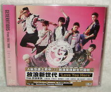 GENERATIONS from EXILE TRIBE Love You More Taiwan Ltd CD+DVD+logo sticker
