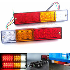 CARAVAN TRUCK TRAILER 20 LED STOP REAR TAIL REVERSE LIGHT INDICATOR LAMP 12V 24V