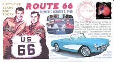 "COVERSCAPE computer designed 55th anniversary of TVs ""Route 66"" event cover"
