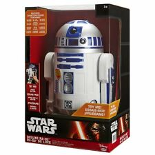 New Star Wars Jakks The Force Awakens Astromech Droid Deluxe Interactive R2-D2