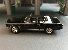 1965 FORD MUSTANG CONVERTIBLE RARE 1/64 LIMITED EDITION DIECAST COLLECTIBLE