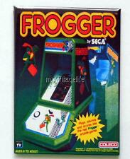 "Vintage FROGGER Table Top Arcade Game COLECO 2"" x 3"" Fridge MAGNET Art SEGA"