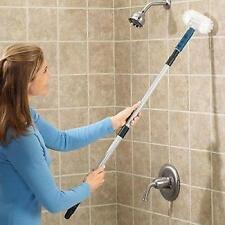 Long Handle Bathtub Scrubber Ergonomic Bath Cleaning Pad Bathroom Tub Shower