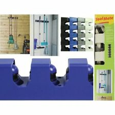 TOOL MATE GARAGE KITCHEN 5 TOOL HANGER BROOM  RACK TOOLMATE GREY BARGAIN