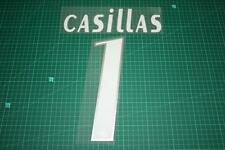 Real Madrid 05/06 #1 CASILLAS Awaykit Nameset Printing