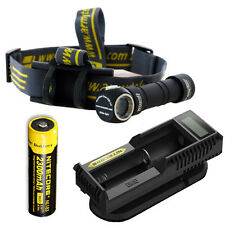 Armytek Wizard Pro V2. XM-L2 Headlamp w/ NL183 Battery & UM10 Charger