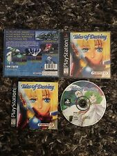 PS1 Playstation 1 Tales Of Destiny CIB Complete Black Label