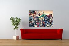 PAINTING  COMIC BOOK MARVEL UNIVERSE AVENGERS GIANT ART PRINT POSTER NOR0815