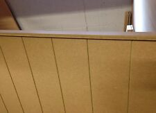 Moisture Resistant Tongue & Groove mdf wood Panel Panelling 120 x120 & Top strip