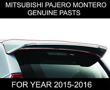 MITSUBISHI MONTERO PAJERO SPORT TAILGATE SPOILER COLOUR MATCH GENUINE PARTS 2016