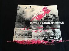Rare DOWN TO EARTH APPROACH Punk Rock Band T-Shirt (Youth M) Vagrant Records