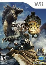 Jeu wii monster hunter tri 3 NEUF