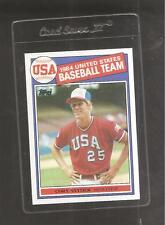 1985 Topps Cory Snyder USA Baseball Rookie #403