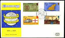 Guernsey 1974 UPU FDC First Day Cover #C35290