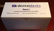 2015 - 2016 Dental Decks Part 1 NBDE - Full Set.