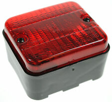 REAR SURFACE MOUNTED RED FOGLIGHT 12VOLT TRAILER CARAVAN LAMP MAYPOLE MP22