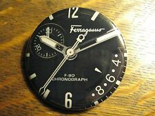 Salvatore Ferragamo F-80 Chronograph Swiss Watch Advertisement Pocket Mirror
