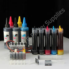 CISS CIS & Extra Set Ink #69 for Epson Workforce 30 Workforce 310 Workforce 1100
