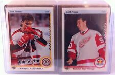 1995 UPPER DECK FIFTH ANNIVERSARY ELECTRIC ICE STEVE YZERMAN KEITH PRIMEAU