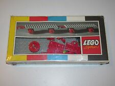 LEGO SYSTEM No 152 TRAIN CARRIAGE CHASSIS MINT IN SEALED BOX MISB NRFB 1960s