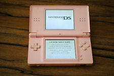 Console Nintendo DS Lite ROSE (Pink) compatible jeux Game boy Advance FONCTIONNE